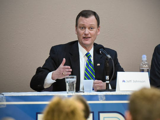 GOP candidate for Minnesota governor Jeff Johnson answers