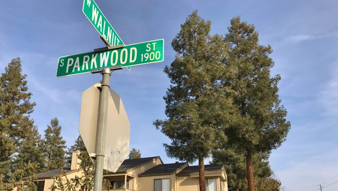 Police are investigating a fatal collision at Parkwood Street and Walnut Avenue.