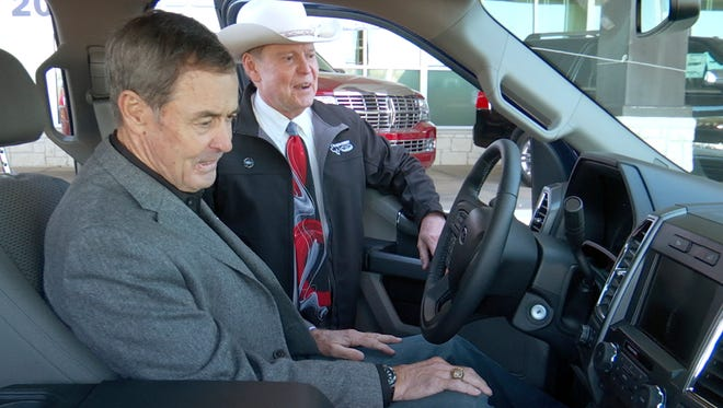 First 2015 Ford F-150 goes to Texas