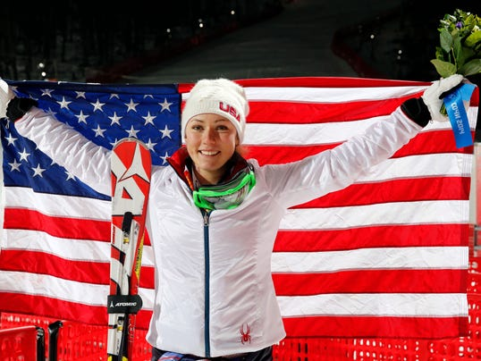 2014-2-21-mikaela-shiffrin-slalom-gold-flag