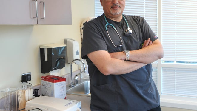 Christopher Cross works as a nurse in Fond du Lac. Cross — who is black and Scottish — talked to The Reporter about his experiences with racism in the community.