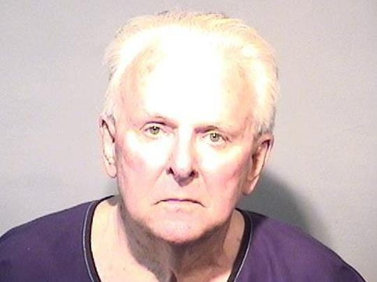 Nicholas King, 73, was arrested and charged with larceny