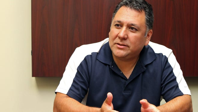 The Rev. Billy Soto, Hispanic Ministries Pastor at First Baptist Church, discusses the growth of Hispanic members at First Baptist.