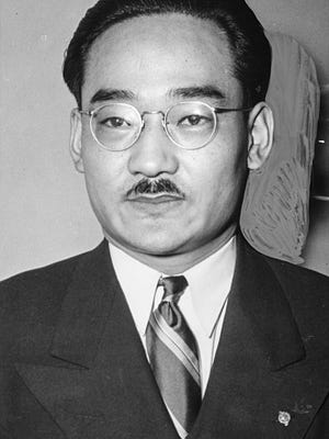 Minoru Yasui of Hood River, taken March 30, 1942.