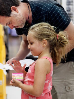 Families are projected to save up to $70 million this year during the back to school sales-tax holiday.