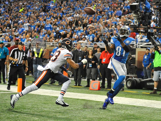 Perfect route, perfect pass as Lions wide receiver