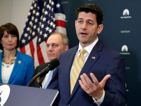 Paul Ryan, Cathy McMorris Rodgers, Steve Scalise