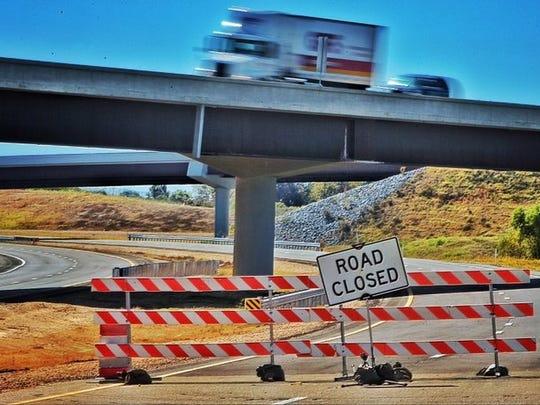 The Interstate 269 loop around Memphis provides major