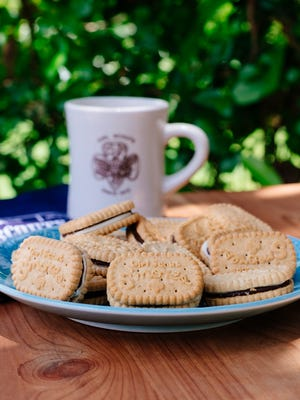 The new Girl Scouts' S'mores cookie on sale for the 100th season this year.