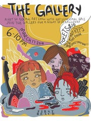 A group of female artists are hosting an all-women artists show on March 17, 2018.