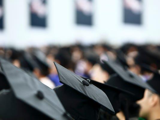 Graduation shot