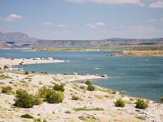 Elephant Butte Lake State Park in New Mexico