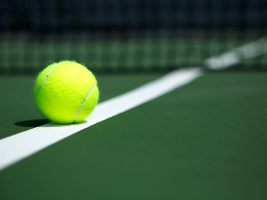 High school boys tennis.
