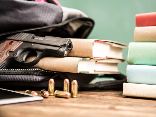 Gun violence in school setting.