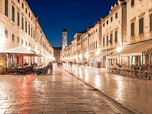 The enchanting walled city of Dubrovnik