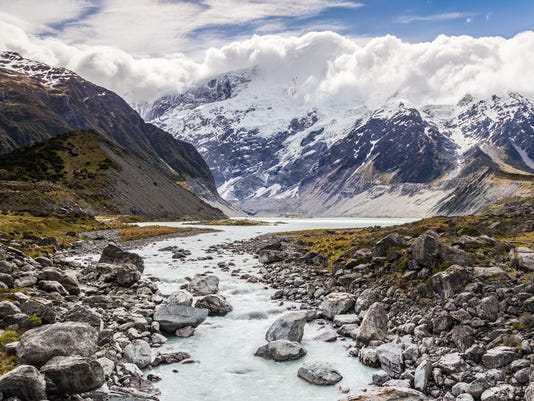 Hooker River view at  Valley Track