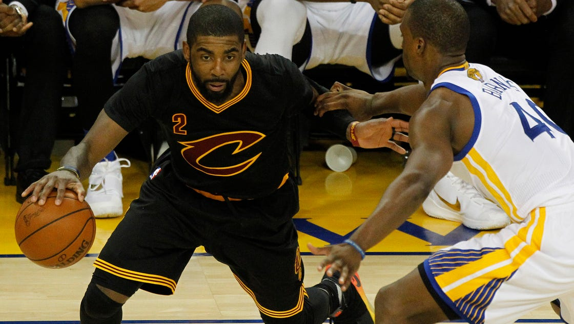 Kyrie Irving's best game gets Cavs back into Finals
