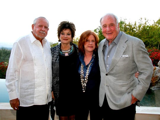 From left: R.D. and Joan Dale Hubbard, Susan Ekins and Jerry Weintraub.