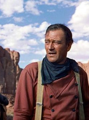 """The Searchers"" (1956) often lands on lists compiling the greatest films of all time, with good reason. John Wayne plays Ethan Edwards in the John Ford film."
