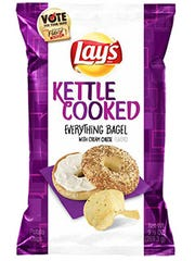 Lindsay Hoffman's Lay's Kettle Cooked Everything Bagel