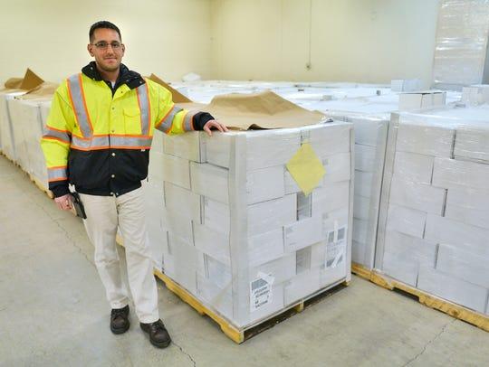 Dan Legatt, St. Cloud Public Works Department maintenance