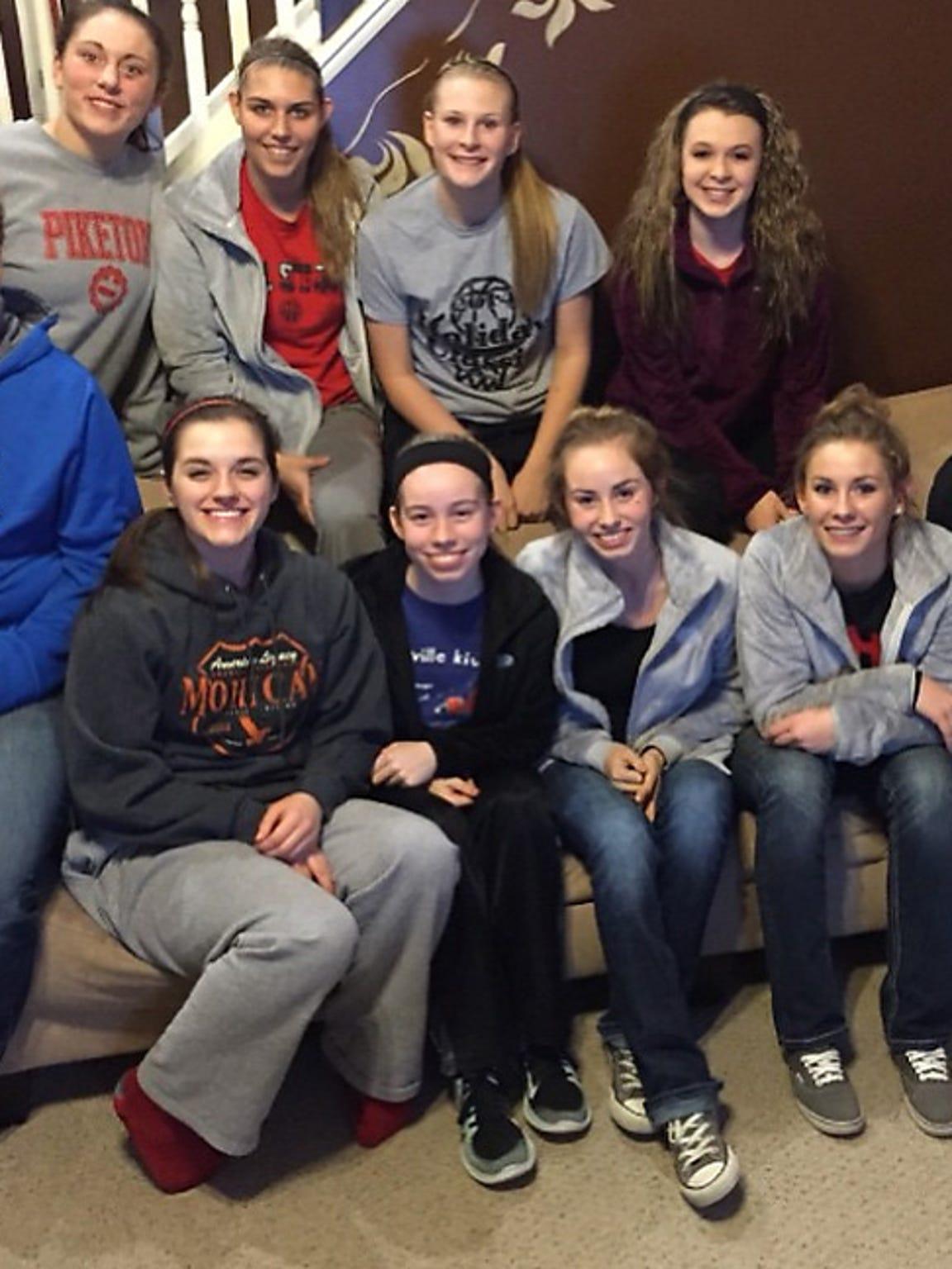 The Piketon girls' basketball team surprised Payton