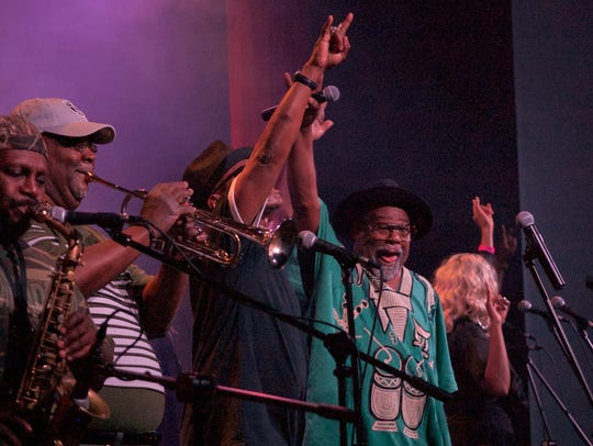 George Clinton performed May 3 with Parliament-Funkadelic