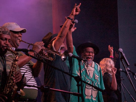 George Clinton performed May 3 with Parliament-Funkadelic at Southwest Florida Event Center in Bonita Springs.