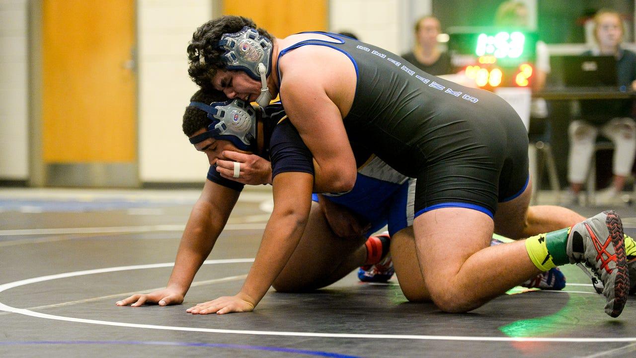WATCH: War on the Shore- Day 1 High School Wrestling