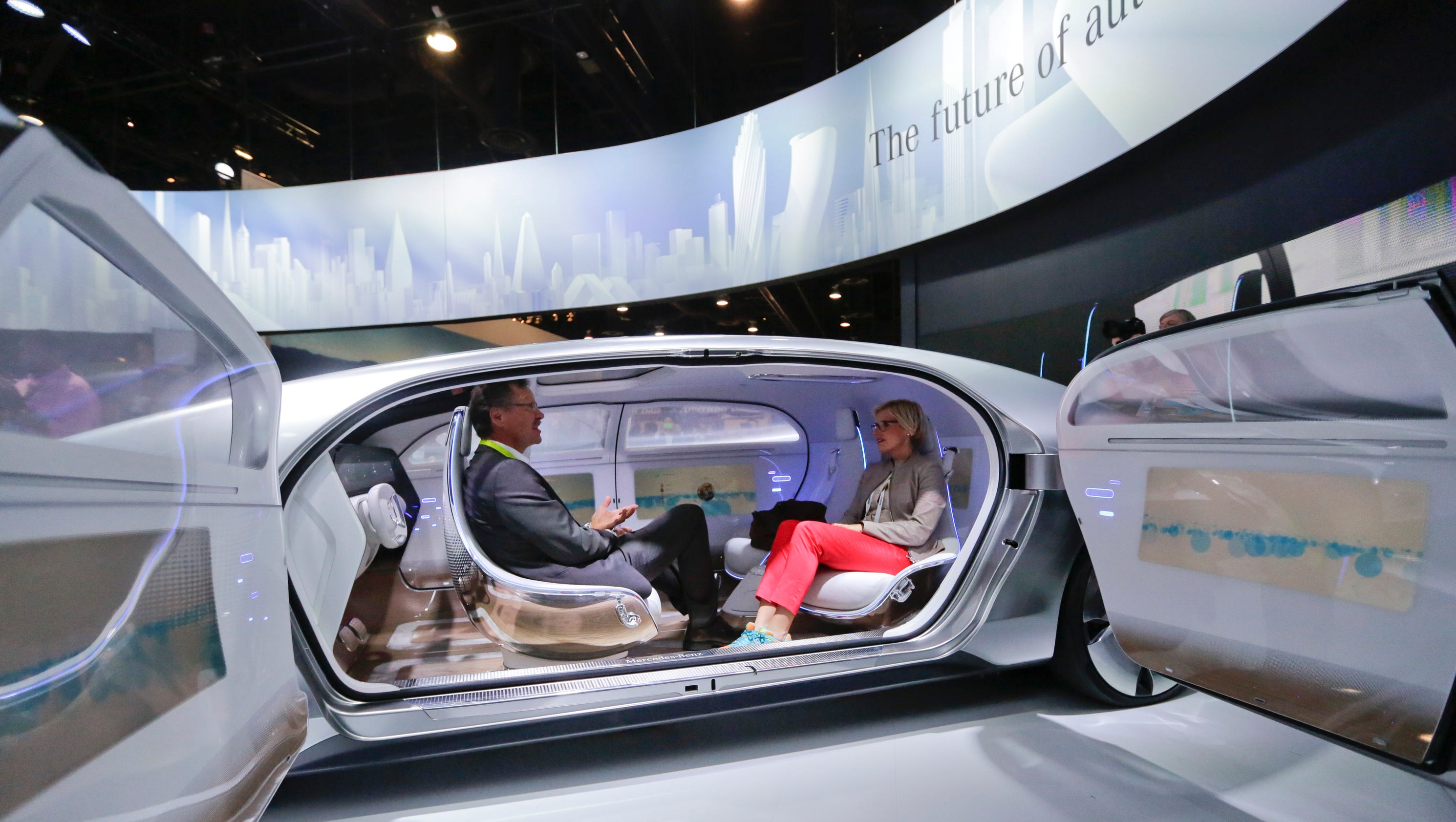 Cars drive to the fore at annual ces tech confab for Mercedes benz usa jobs