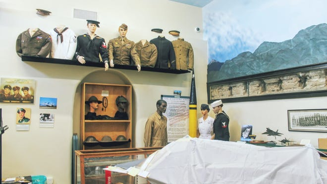 The military exhibit room at the Tularosa Basin Museum of History, 1004 N. White Sands Blvd., is still a work in progress but will feature an exhibit from the Korean War on Saturday which is the anniversary of the war.