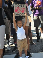 Ferguson child don't shoot