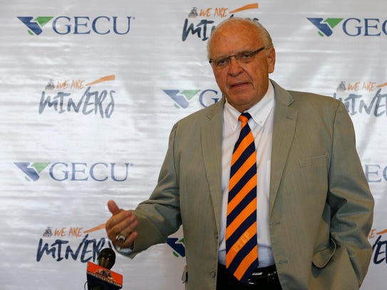UTEP interim head coach Mike Price