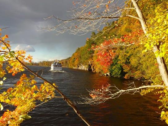 A scene in Connecticut.