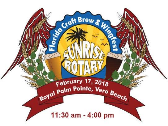 Sunrise Rotary's Florida Craft Brew & Wingfest.