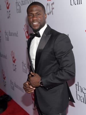 Host Kevin Hart attends the 2nd Annual Diamond Ball hosted by Rihanna and The Clara Lionel Foundation at The Barker Hanger on December 10, 2015 in Santa Monica, California.