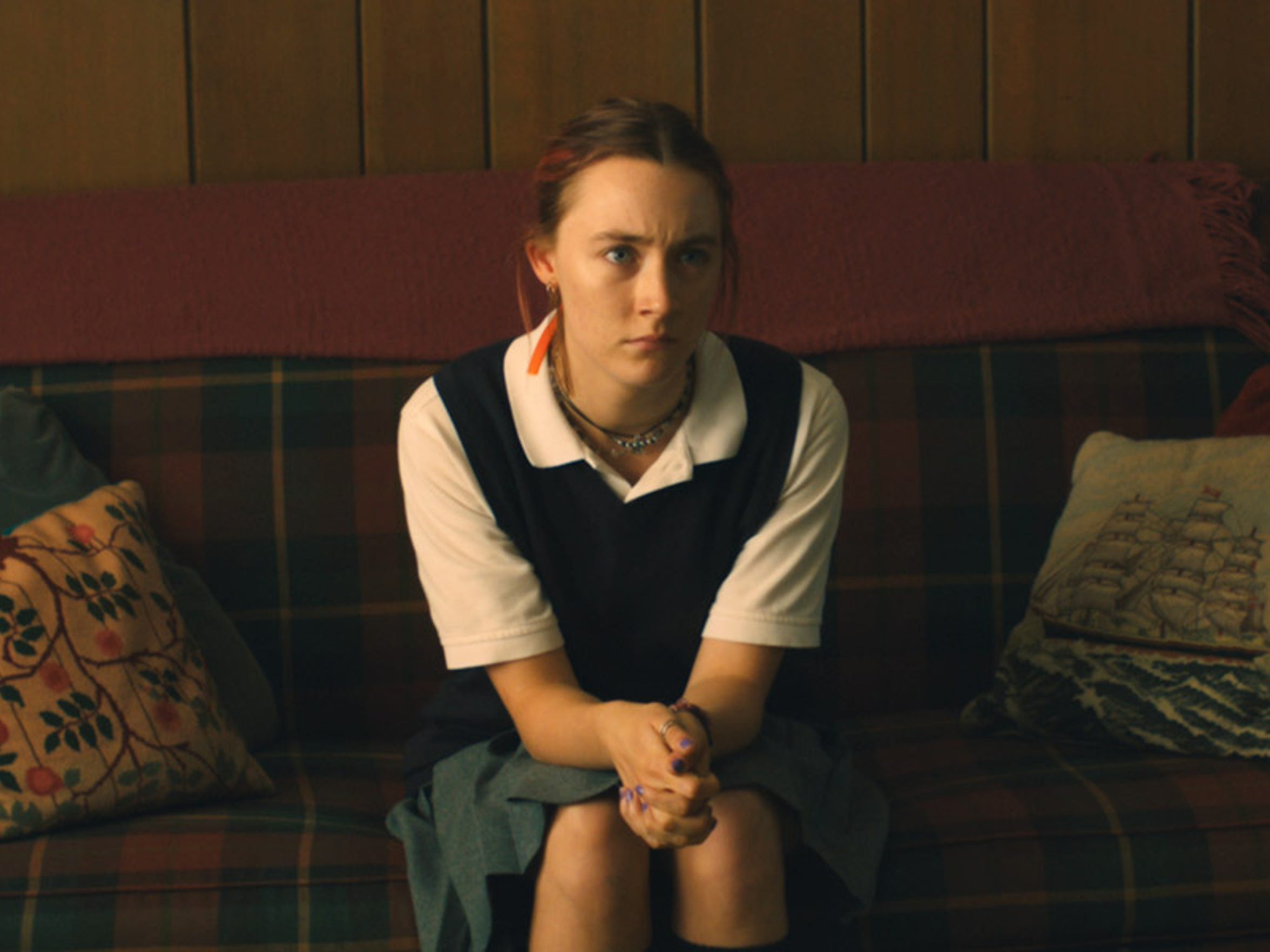 """Saoirse Ronan stars in the coming-of-age film """"Lady Bird."""""""