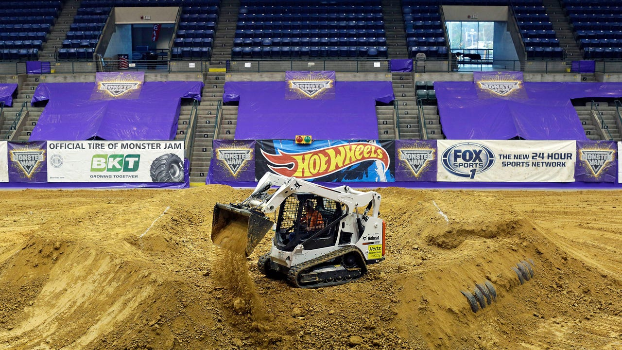 Monster Jam Monster Truck at Mississippi Coliseum