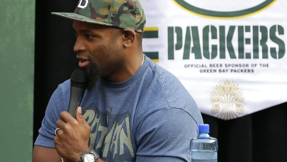 Ahman Green was the guest for the season premiere of