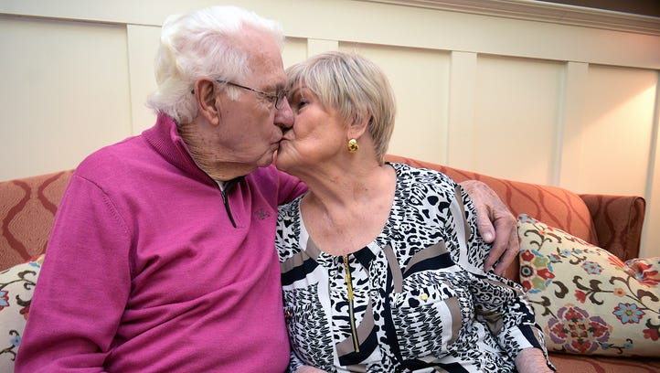 Clifford and Wilma Smith, who have been married for 62 years, just moved to Morning Pointe of Franklin. Wilma has rheumatoid arthritis and macular degeneration and the Smiths moved to an assisted living community.