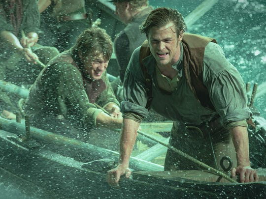 The crew of the Essex goes to desperate measures to bring home whales in 'In the Heart of the Sea.'