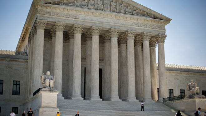 In this June 30, 2014 file photo, the Supreme Court building in Washington.