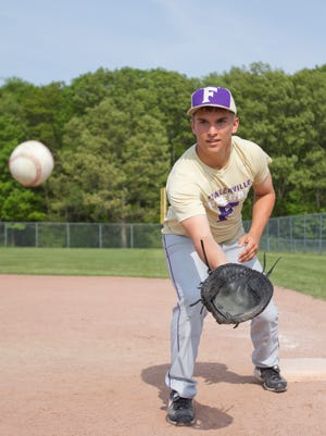 Fowlerville High School graduating senior Alex Montrose plays second base for the varsity baseball team when not keeping on top of his studies. Montrose has earned a spot on the Stellar Students team.