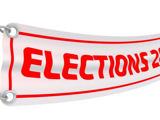Elections 2018. Advertising banner
