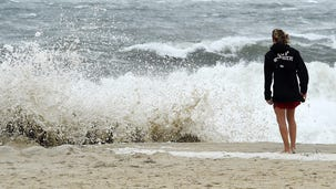 Rehoboth Beach: Wind-blown sand keeps crowds off the beach