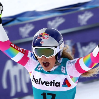 Lindsey Vonn's World Cup wins through the years