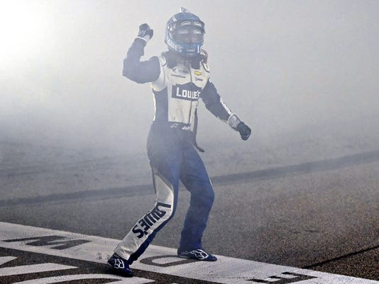 11-21-2016 jimmie johnson smoke