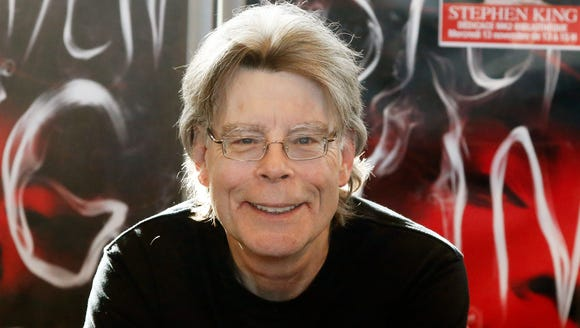 In this Nov. 13, 2013 file photo, author Stephen King