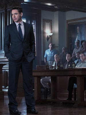 "Robert Downey, Jr. can't over come a cliched script in ""The Judge."""