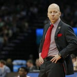 University of Cincinnati coach Mick Cronin on Rick Pitino: My thoughts are with him.